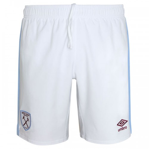 West Ham Away Football Shorts 19 20