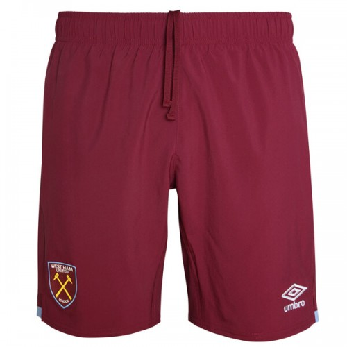 West Ham Home Football Shorts 19 20