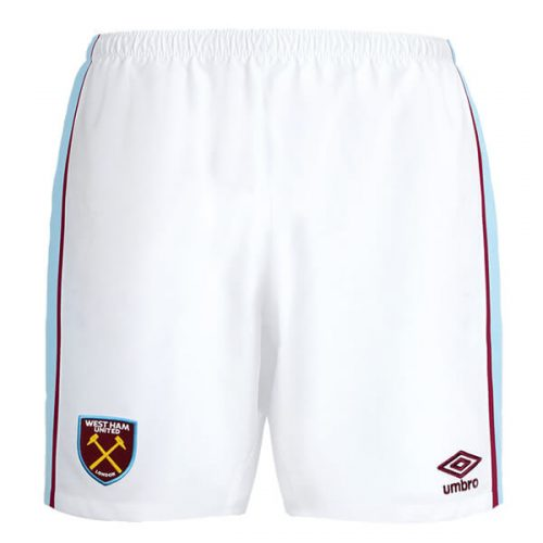 West Ham Home Football Shorts 21 22