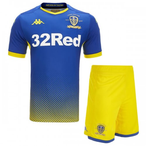 Leeds United Home Kids Goalkeeper Kit 19 20