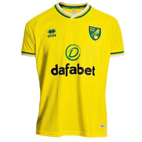 Norwich City Home Football Shirt 20 21