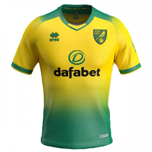 Norwich Home Football Shirt 19 20