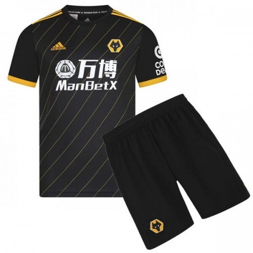 Wolverhampton Wanderers Away Kids Football Kit 19 20