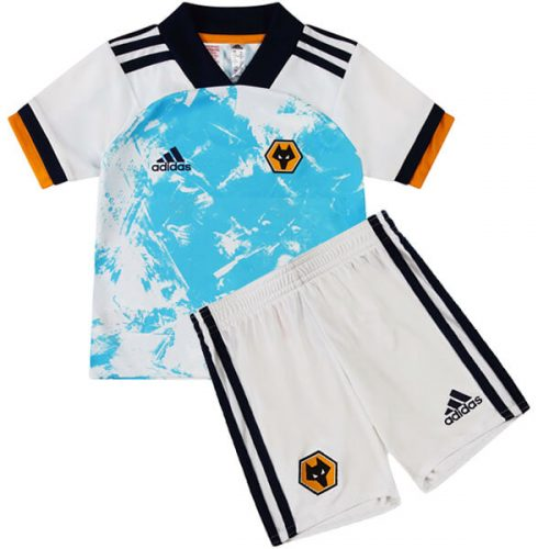 Wolverhampton Wanderers Away Kids Football Kit 20 21