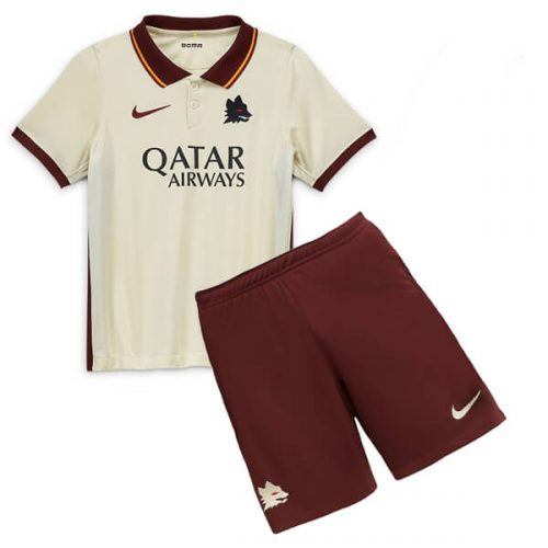 AS Roma Away Kids Football Kit 20 21