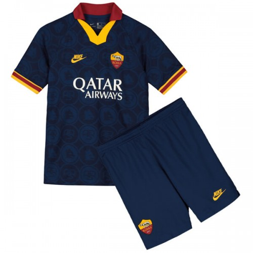AS Roma Third Kids Football Kit 19 20