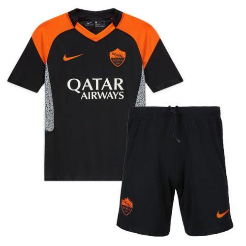 AS Roma Third Kids Football Kit 20 21