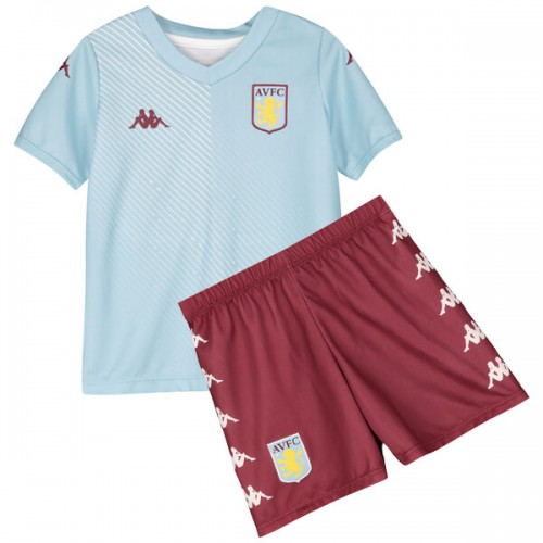 Aston Villa Away Kids Football Kit 19 20