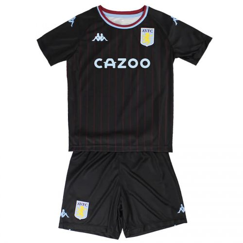 Aston Villa Away Kids Football Kit 20 21