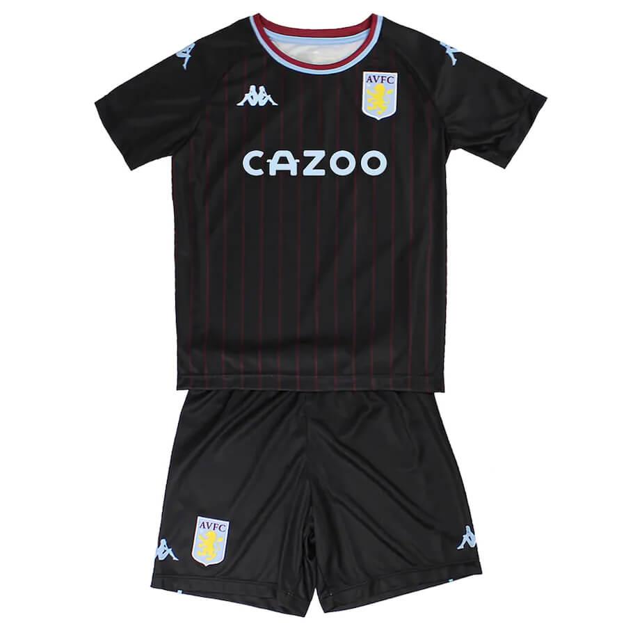 Aston Villa Away Kids Football Kit 20 21 Soccerlord