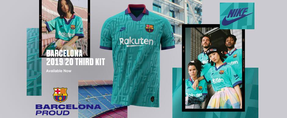 Barcelona Third Soccer Jersey