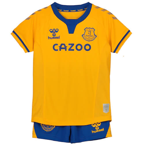 Everton Away Kids Football Kit 20 21