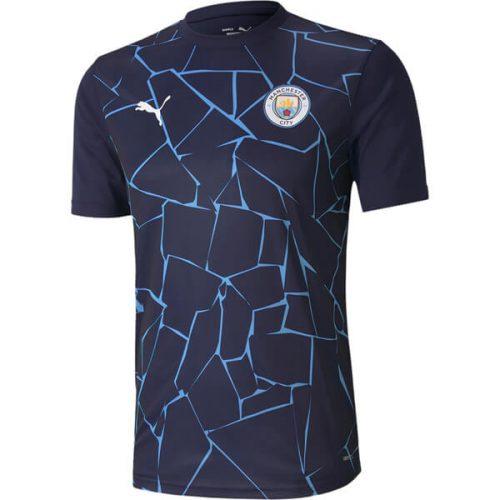 Manchester City Pre Match Training Football Shirt