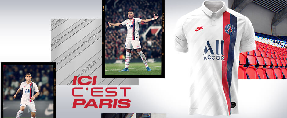 PSG Third Football Shirt