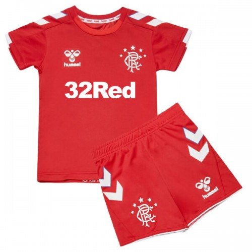 Rangers Third Kids Football Kit 19 20