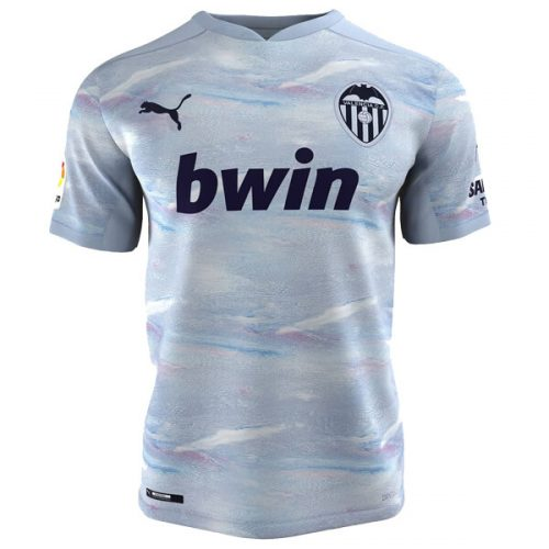 Valencia Third Football Shirt 20 21