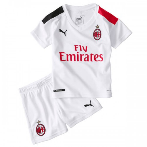 AC Milan Away Kids Football Kit 19 20