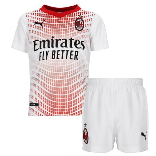 AC Milan Away Kids Football Kit 20 21