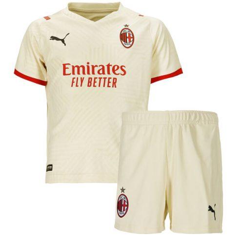 AC Milan Away Kids Football Kit 21 22