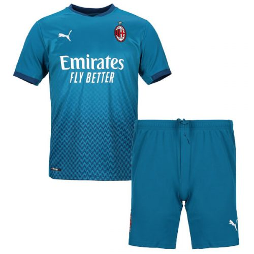 AC Milan Third Kids Football Kit 20 21