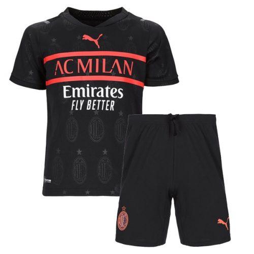 AC Milan Third Kids Football Kit 21 22