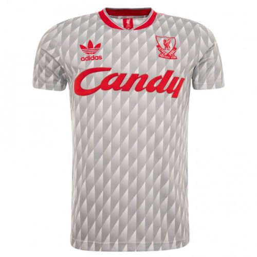 Retro Liverpool Away 89 91 Football Shirt