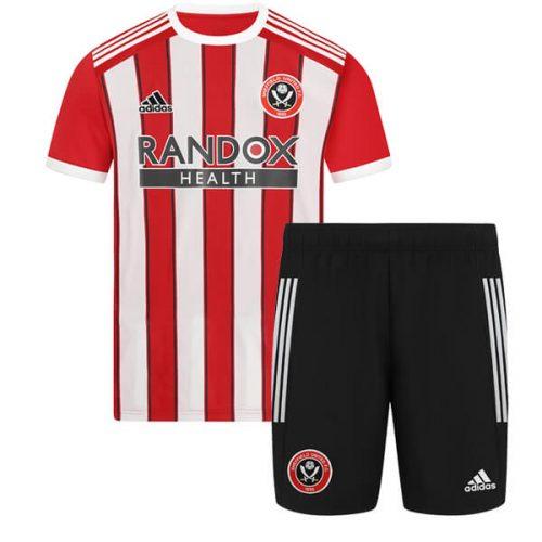 Sheffield United Home Kids Football Kit 21 22