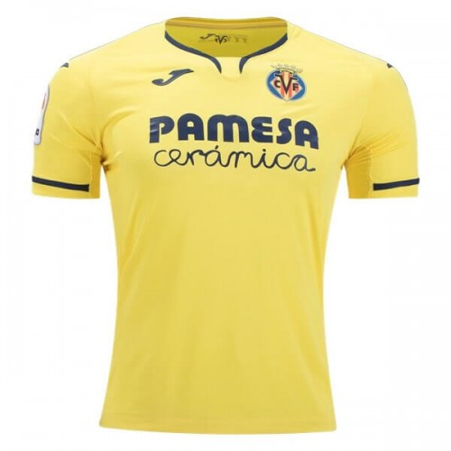 Villarreal Home Football Shirt 19 20