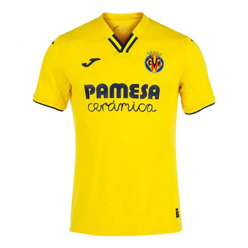 Villarreal Home Football Shirt 21 22
