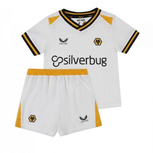 Wolverhampton Wanderers Third Kids Football Kit 21 22