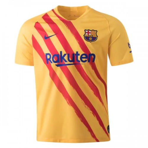 Barcelona Senyera Fourth Football Shirt 19 20