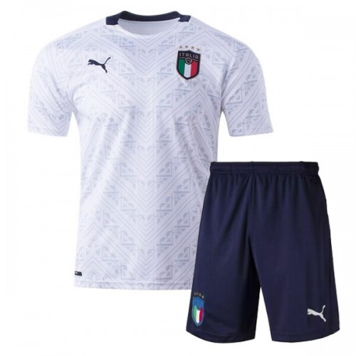 Italy Away Kids Football Kit 2020