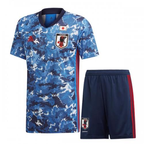 Japan Home Kids Football Kit 2020