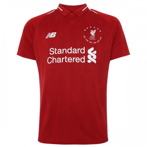 Liverpool 6 Times Euro 18 19 Football Shirt