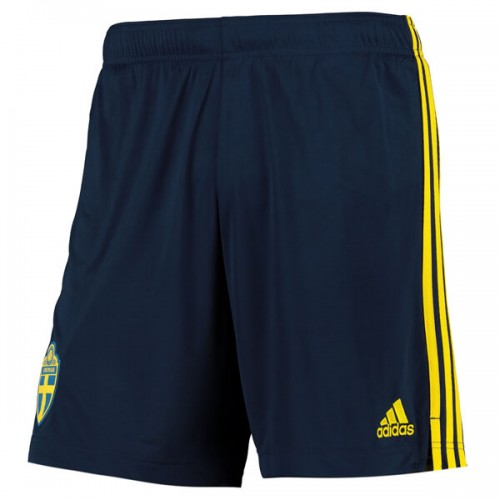 Sweden Home Euro 2020 Football Shorts