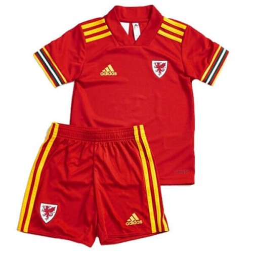 Wales Home 2020 Kids Football Kit