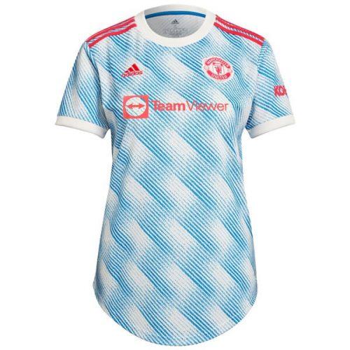 Manchester United Away Womens Football Shirt 21 22