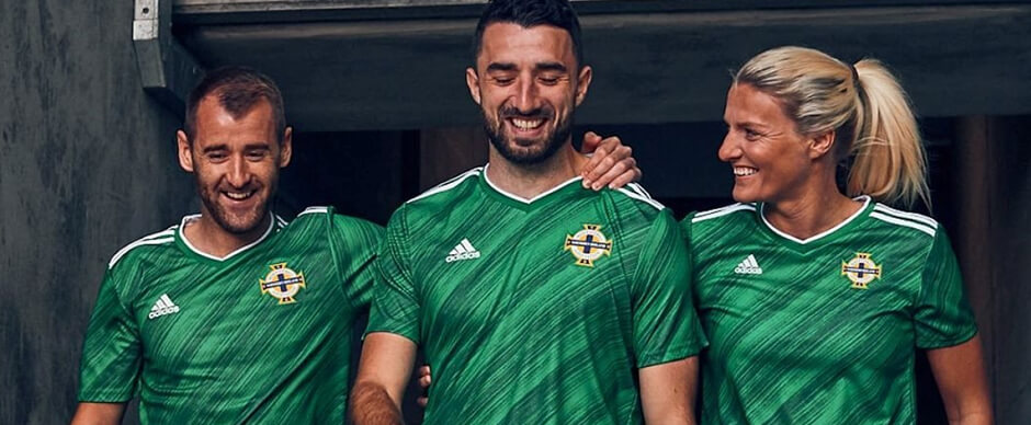 Northern Ireland Soccer Jersey 2020