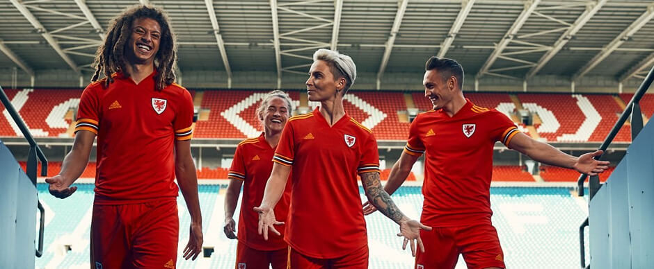 Wales Soccer Jersey 2020