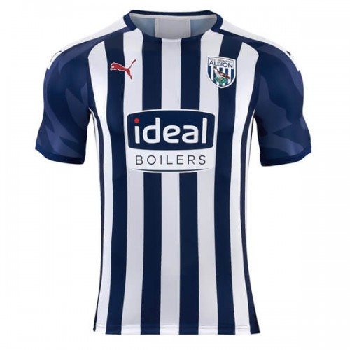 West Bromich Albion Home Football Shirt 19 20