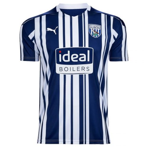 West Bromich Albion Home Football Shirt 20 21