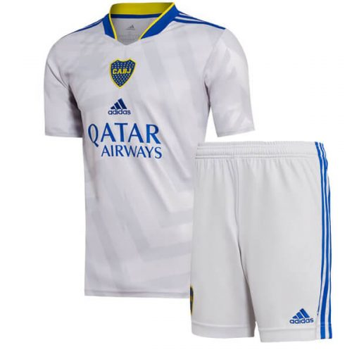 Boca Juniors Away Kids Football Kit 21 22