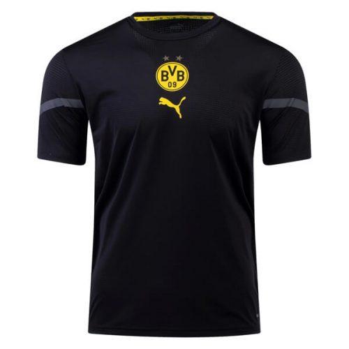 Borussia Dortmund Pre Match Training Football Shirt - Black