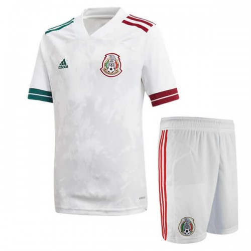 Mexico Away Kids Football Kit 2020