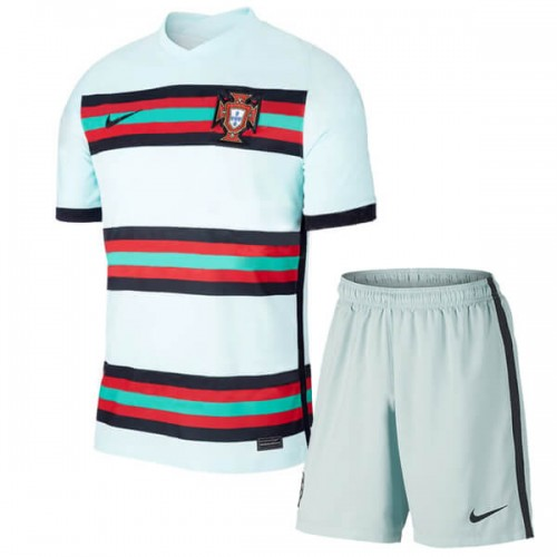 Portugal Away Kids Football Kit 2020