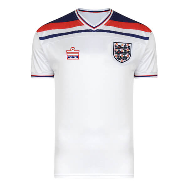 Retro England Home Football Shirt 1980 1983