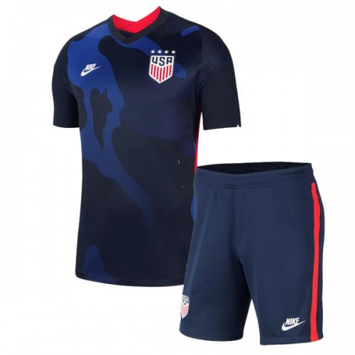 USA Away Kids Soccer Kit 2020