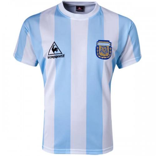 Retro Argentina Home Football Shirt 1986