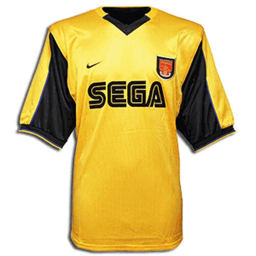 Retro Arsenal Away Football Shirt 99 01