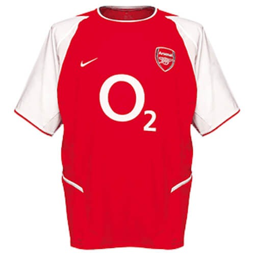 Retro Arsenal Home Football Shirt 02 03